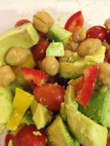 Chickpea and Avocado Salad