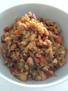 Healthy Vegetarian Fried Rice